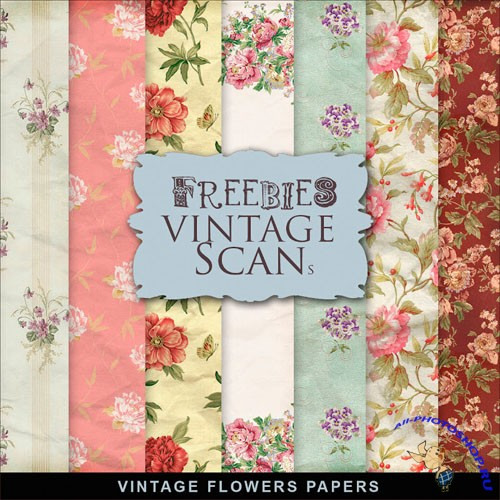 Textures - Old Vintage Backgrounds #100