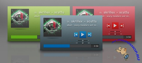 PSD Template - Music Player