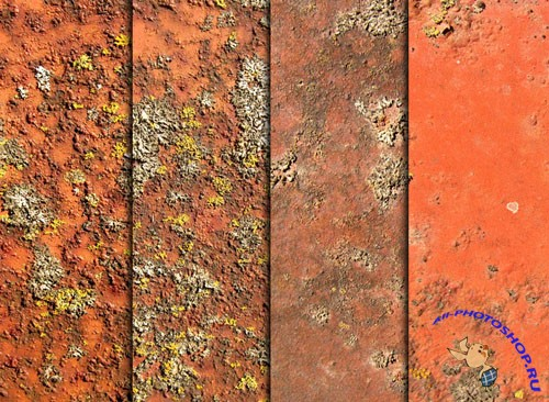 Textures - Rust, Moss, And Metal