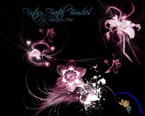 Brushes for Photoshop - Fantasy Fractal
