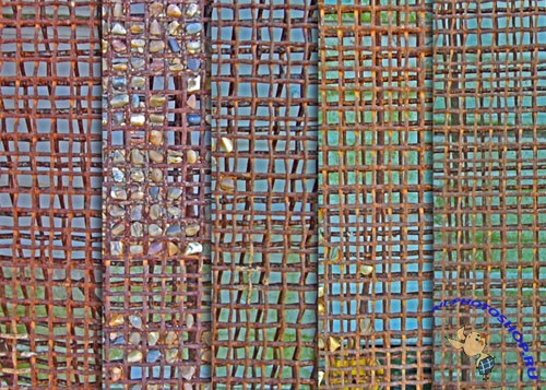Textures - Rusty Wire Grid