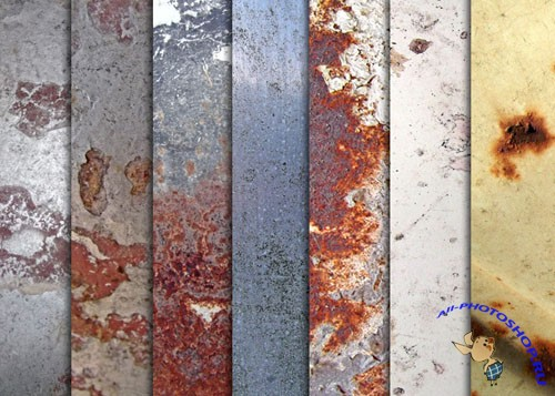 Textures - Various Rusted Metal
