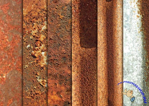 Textures - Totally Rusty Metal