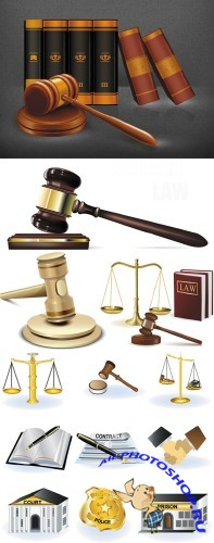 Law and Justice - Vector Clipart