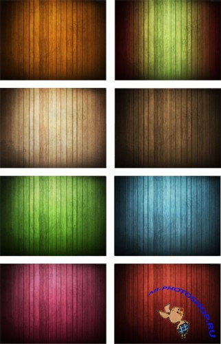 Wood Background Set