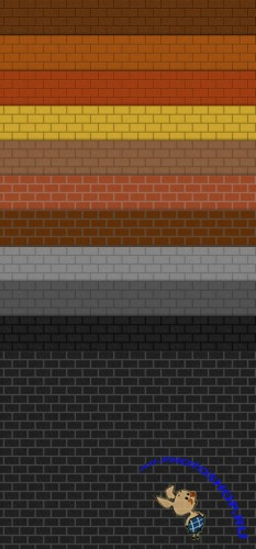 Patterns for Photoshop - Realistic Brick