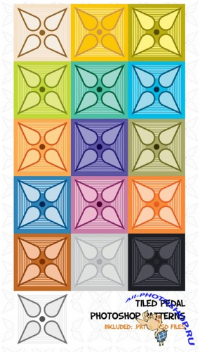 Patterns for Photoshop - Tiled Pedals