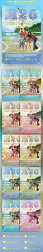 GraphicRiver - H20 Beach Party Flyer Template 2336327