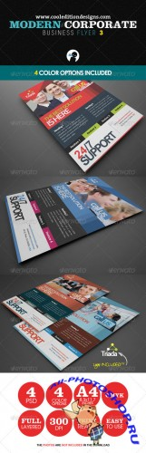 GraphicRiver - Modern Corporate Business Flyer 3 - 2336825