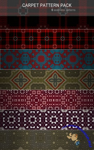 Patterns for Photoshop - Carpet