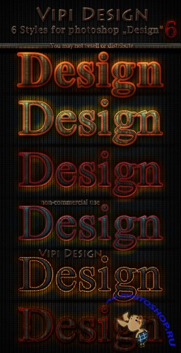 Styles for Photoshop - Design 6