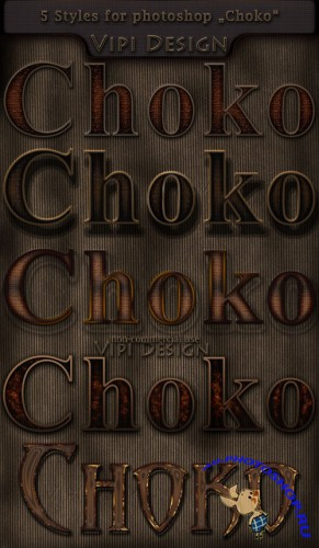 Styles for Photoshop - Choko