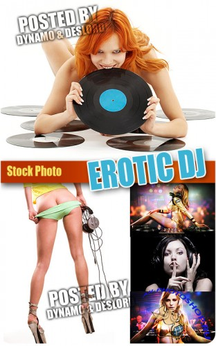 Erotic DJ - UHQ Stock Photo