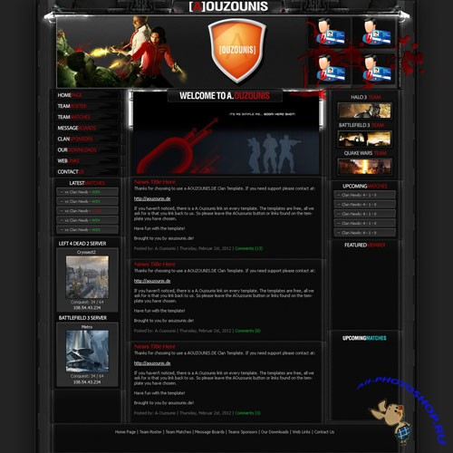 PSD Template - Clan Blood