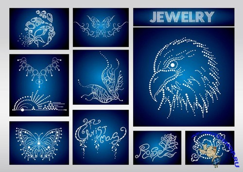 Jewels Vectors for Photoshop