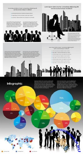 Infographics Vector Pack 69