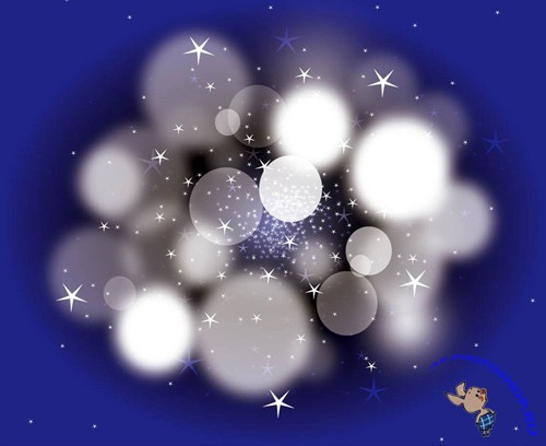 Dream Bubbles vector For Photoshop