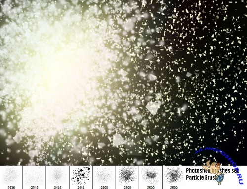 Particle Brushes Set