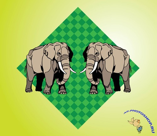 Vector Elephants