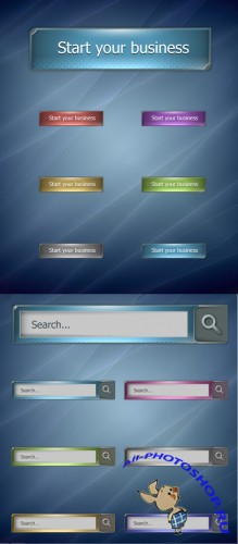Web Buttons for Photoshop - Future