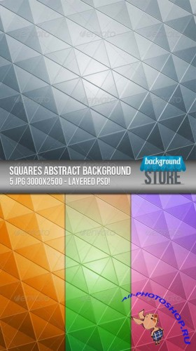 GraphicRiver - Squares Abstract Background 2459235
