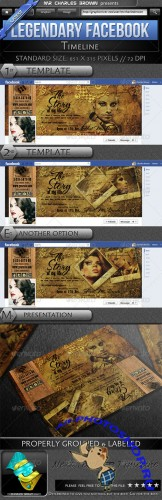GraphicRiver - Legendary Facebook Timeline 2311043