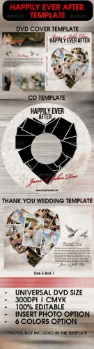 GraphicRiver - Happily Ever After Wedding Template 2108142
