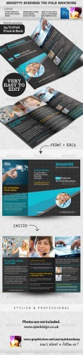 GraphicRiver - Zenzitti Business Tri-fold brochure 2324810