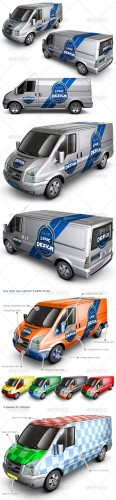 GraphicRiver - Van Car Mock Up 2003023