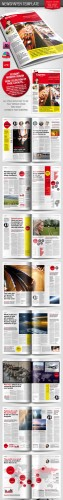 GraphicRiver - Berliner Newspaper/Magazine Template 1224460
