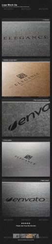 GraphicRiver - Logo Mock-Up 1031327