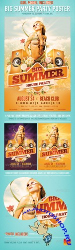 GraphicRiver - Big Summer Party Poster 2524458