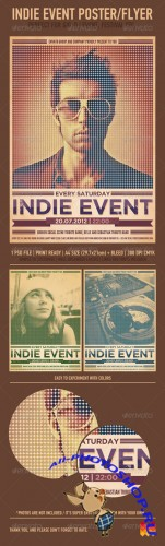 GraphicRiver - Indie Event Flyer/Poster 2503459