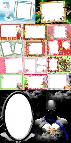 Collection of Spring Photo frames pack 10