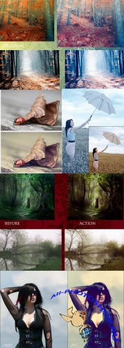 Photoshop Actions 2012 pack 596