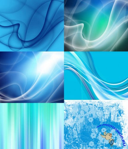 Blue Futuristic Backgrounds