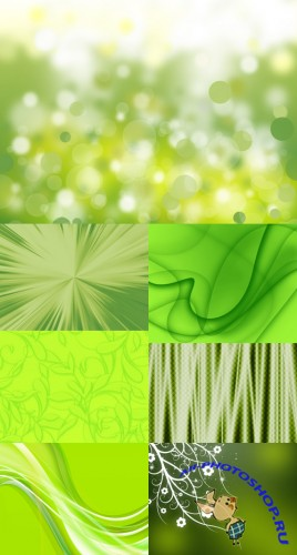 Greenish Decorative Backgrounds