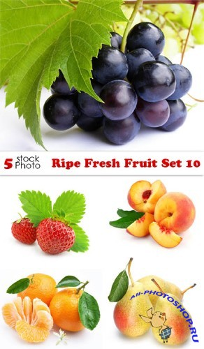 Photos - Ripe Fresh Fruit Set 10