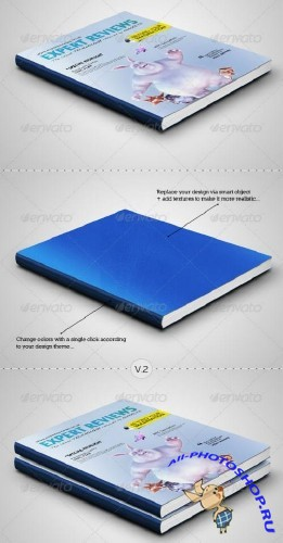 Graphicriver Book - Diary Mockup