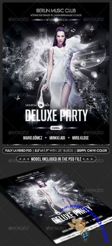 GraphicRiver Deluxe Party Poster/Flyer