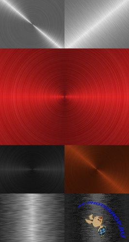 Metallic backgrounds pack