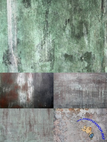 Dirty Grunge Textures Set