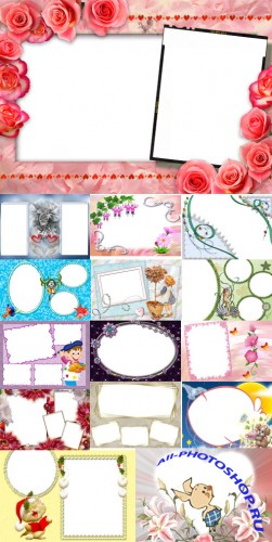 Collection of Spring Photo frames pack 26
