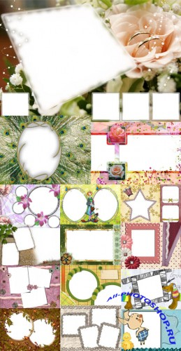 Collection of Spring Photo frames pack 31