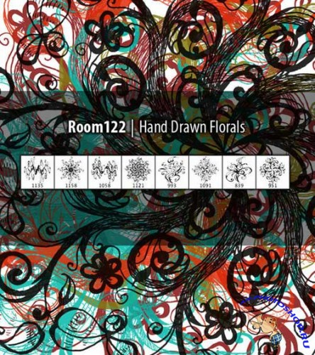 ����� ��� �������� - Hand Drawn Floral