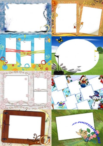 Collection of Spring Photo frames pack 45