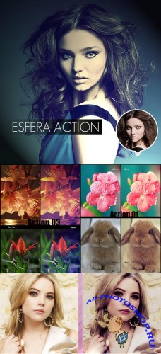 Photoshop Actions 2012 pack 607