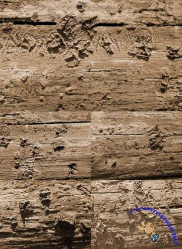 Dusty Wood Textures Set