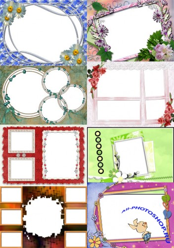 Collection of Spring Photo frames pack 52