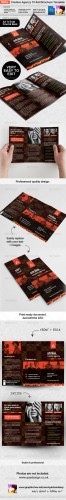 GraphicRiver - Strike Creative Agency Tri-fold Brochure Template 2513708